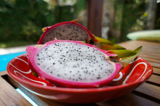 Dragon fruit на Бали